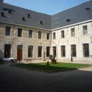 Nouveau site du festival : la Cour interieure du Malmundarium