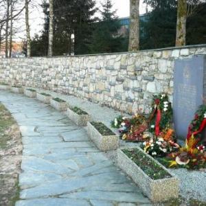 L'ensemble du memorial de Baugnez