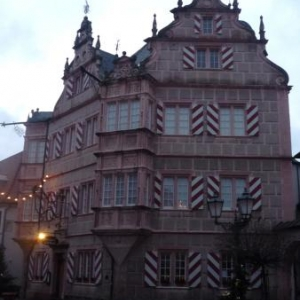 Maison en gres rose du Palatinal a Bad Bergzabern
