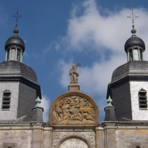 La basilique de St Hubert