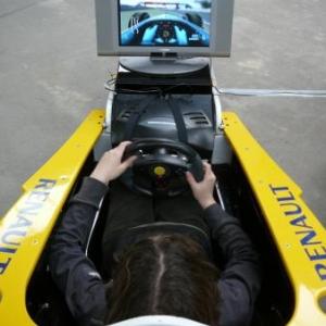 Simulation de conduite en circuit