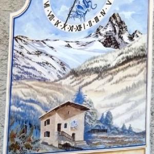 Hautes - Alpes                        Les cadrans solaires