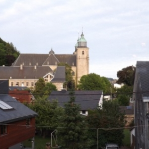 Vue vers la cathédrale