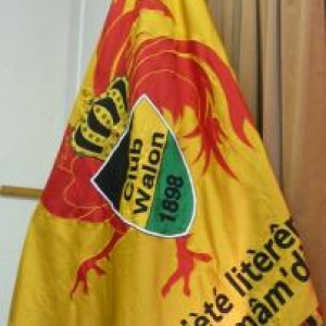 Le drapeau du Royal Club Wallon