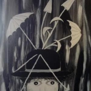 """"""" J'en ai marre de la pluie """" Surrealisme ( Ulla PEIFFER )"""