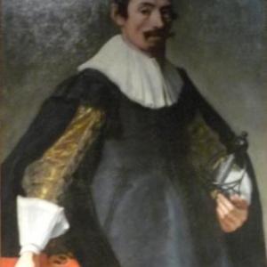 """"""" Portrait de l'homme a l'epee """" ( Gerard DOUFFET )"""