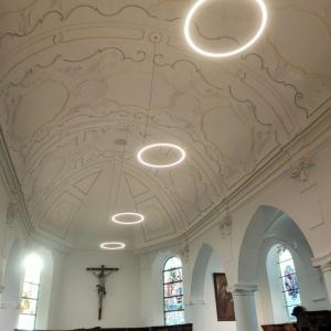 L'église rénovée ( photo Hannecart  )