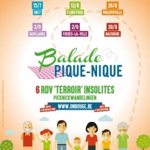 """Du 15 juillet au 30 septembre : 6 nouvelles """"Balades pique-nique"""""""