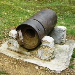 Bezonvaux : piece de canon