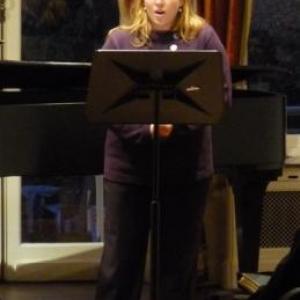 Interprétation chantee d'une piece de C. Franck