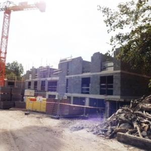 Les constructions en cours