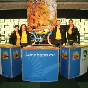 Le stand a Amsterdam