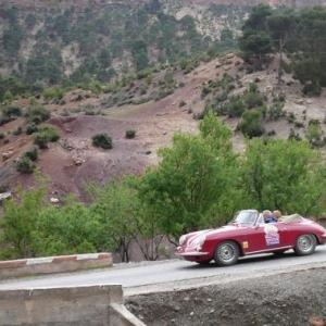 Maroc Classic Porsche 356B Carrera 2000 de 1963