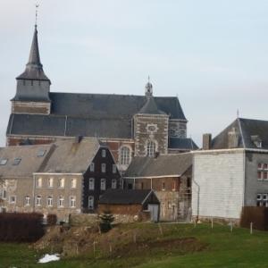 Le charmant village de Clermont sur Berwinne