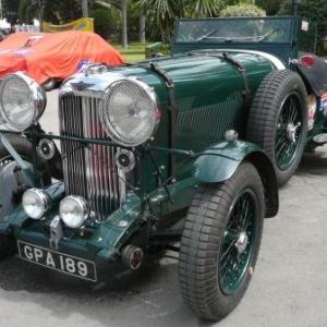 Maroc Classic Lagonda 4L45 de 1937