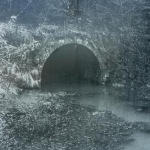 L' entree du tunnel de Bernistap au temps jadis