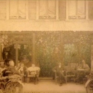 Terrasse de cafe