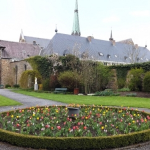 Dans le parc de l'abbaye
