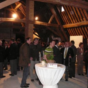 Accueil du public lors de la ceremonie d'ouverture