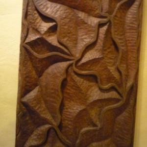 Monastere de l'Annonciation : realisation sur bois