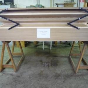 La manufacture d'orgues : un soufflet a plis paralleles ( 600 litres )
