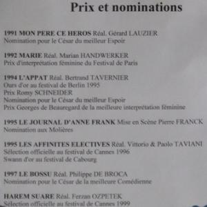 83. Prix et nominations de Marie