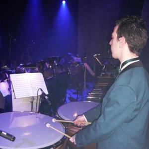 Dans le coin des percussions