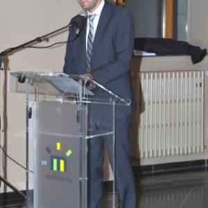 JP Bastin ( Bourgmestre ) ( Photo de G. Blanchy )