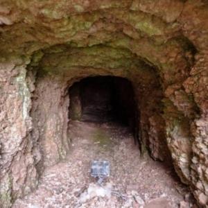 Le poudingue de Malmedy ( ancien abri durant la guerre 40 - 45)