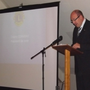 . Thierry Cormeau, President de la zone