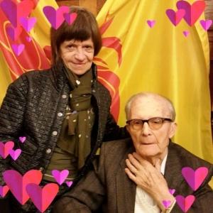 Franz et Dany, sa fille