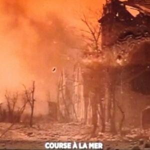 Ypres en feu, ses habitants rejoignent la zone cotiere