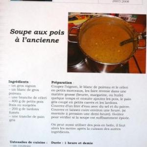 Une recette belge parmi d'autres ....