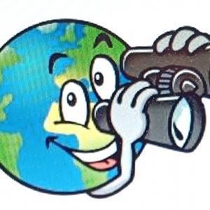 C'est ce globe terrestre, dessiné par l'artiste, qui accompagnera les plus jeunes