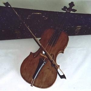 """""""le premier violon de l'artiste »."""
