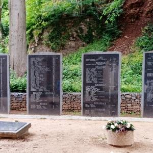 Le Monument rappelant le sacrifice des patriotes malmédiens