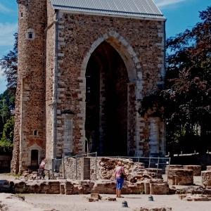 La tour autrefois haute de 90 m