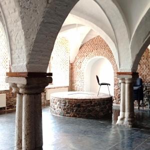 Sous - sol de l'abbaye
