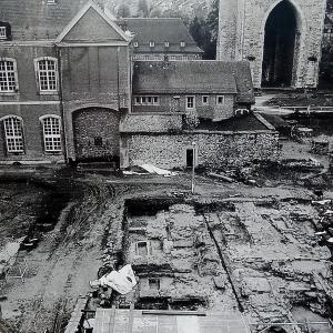 A l'époque des fouilles