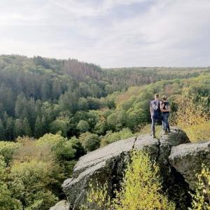 Le magnifique panorama offert par La Roche à l'Appel. © MEHDI DELPORTE