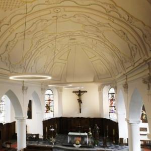 L'église rénovée ( photo Védia )