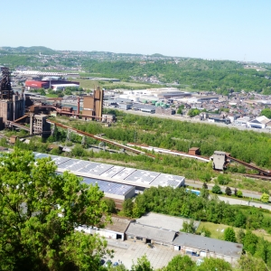 Paysage du bassin industriel liégeois