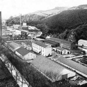La fabrication du papier ( ancienne papeterie Intermills à Malmedy)