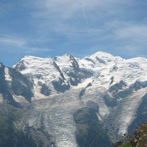 Vue du Mont Blanc depuis le Brévent