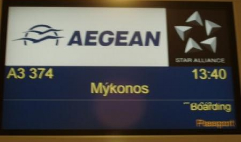 mykonos aegean airlines
