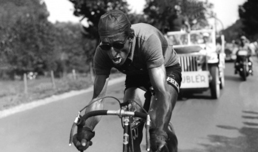 Ferdi Kubler fut aussi vainqueur du tour de France, et est une legende du Ventoux