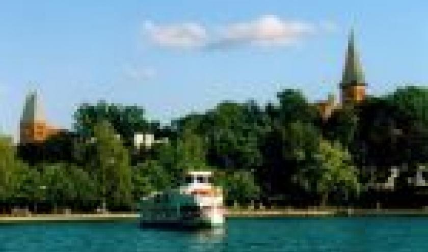 zicht op een van de meren