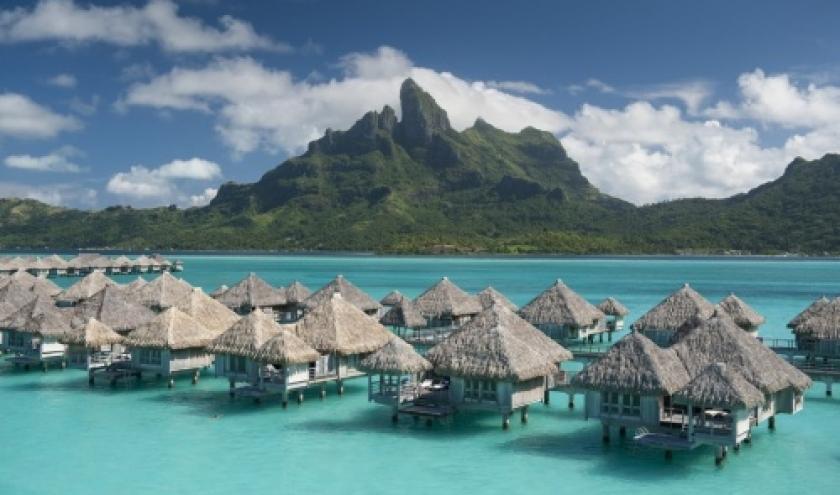 @ the St regis bora bora resort