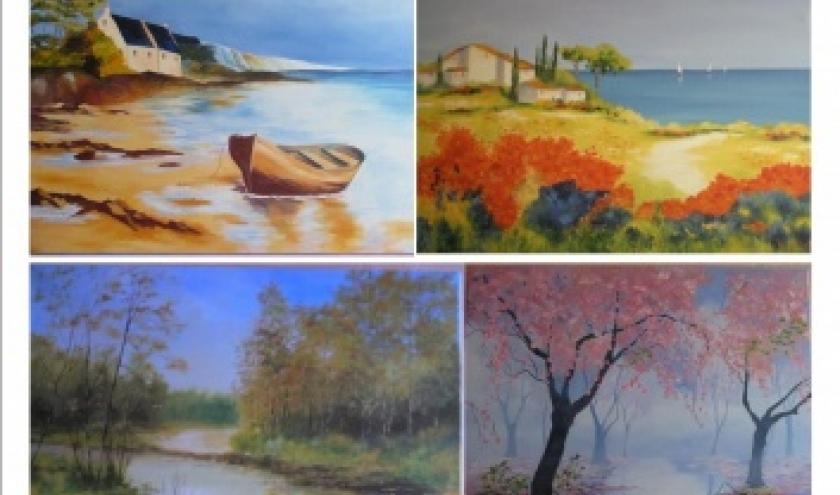 Exposition du peintre Nicole Gérard à Cerfontaine