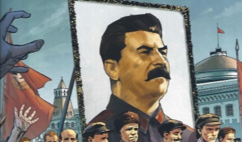 La vie de Staline en bande dessinée